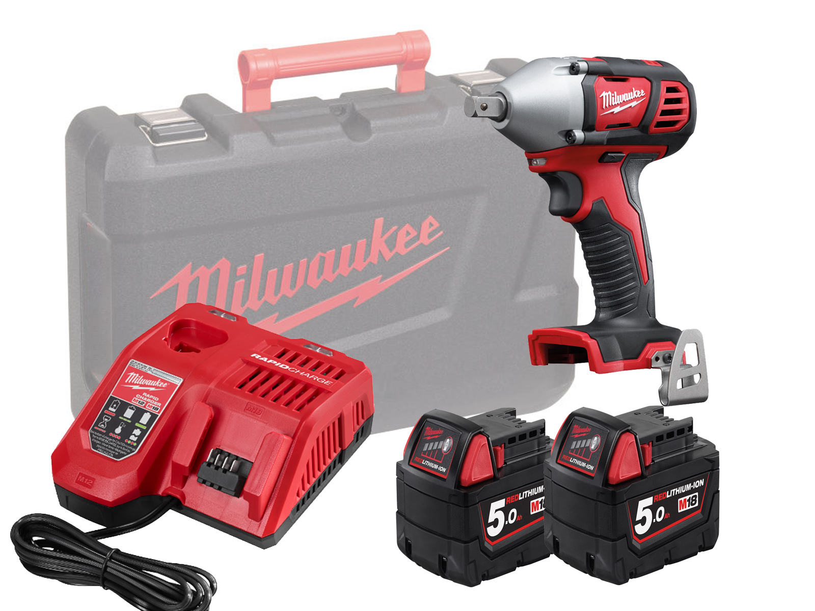 MILWAUKEE 18V BRUSHED IMPACT WRENCH 1/2