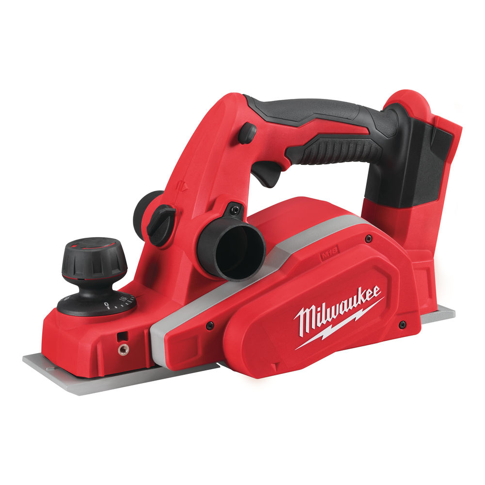 MILWAUKEE 18V PLANER & DUST BAG - M18BP - BODY ONLY