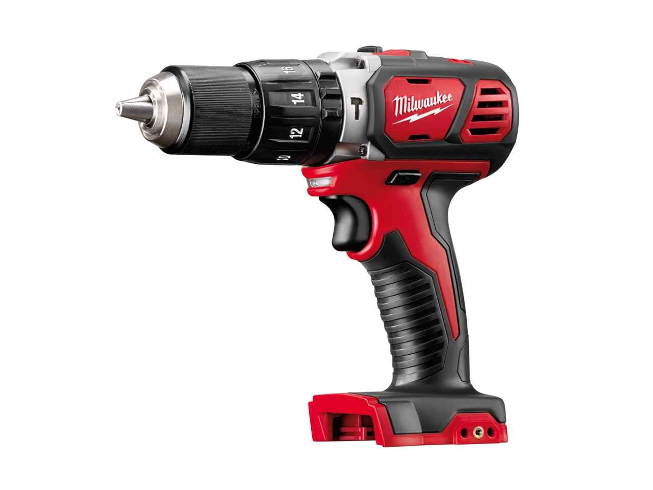 MILWAUKEE 18V BRUSHED COMBI DRILL - M18BPD - BODY ONLY