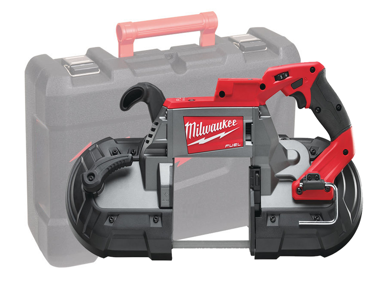 Milwaukee M18CBS125 18V FUEL Deep Cut Bandsaw 125mm x 125mm Cutting Capacity - Body Only