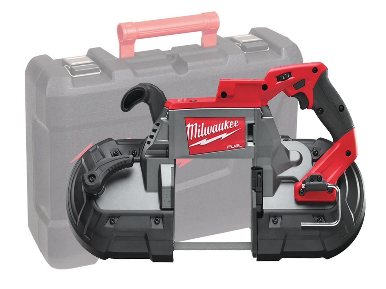 Milwaukee M18CBS125 18V FUEL Deep Cut Bandsaw 125mm x 125mm Cutting Capacity - Body Only