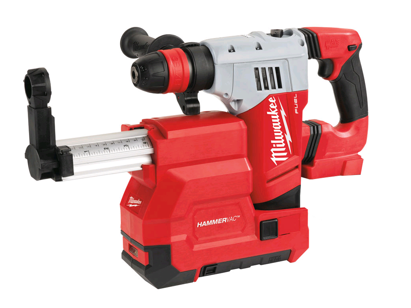 MILWAUKEE 18V FUEL SDS+ HAMMER & DUST EXTRACTOR - M18CHPXDE - BODY ONLY