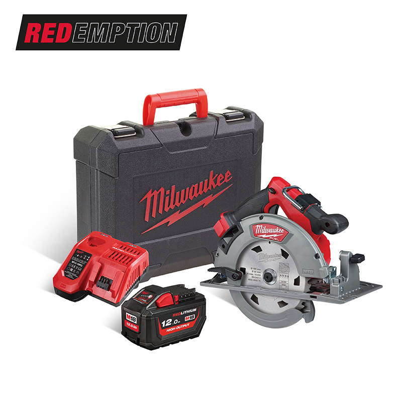 Milwaukee M18FCS66-121C 18V Super Circular Saw 190mm FUEL - 12.0ah Pack