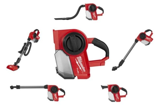 Milwaukee M18FVCL 18V Fuel Brushless 5 in 1 Compact Vacuum - Body Only