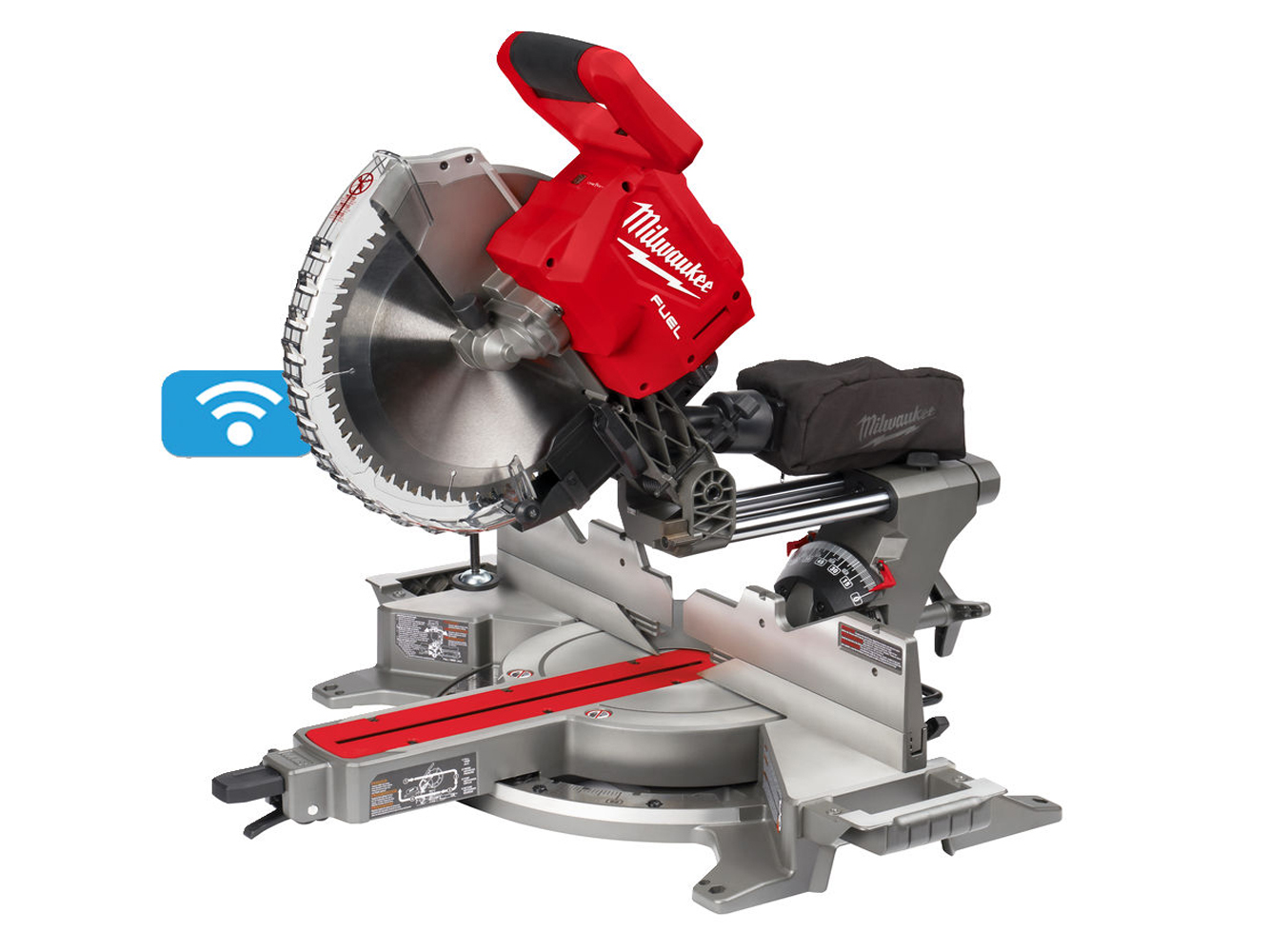 MILWAUKEE ONE-KEY 18V 305MM DOUBLE BEVEL MITRE SAW - M18FMS305 - BODY ONLY
