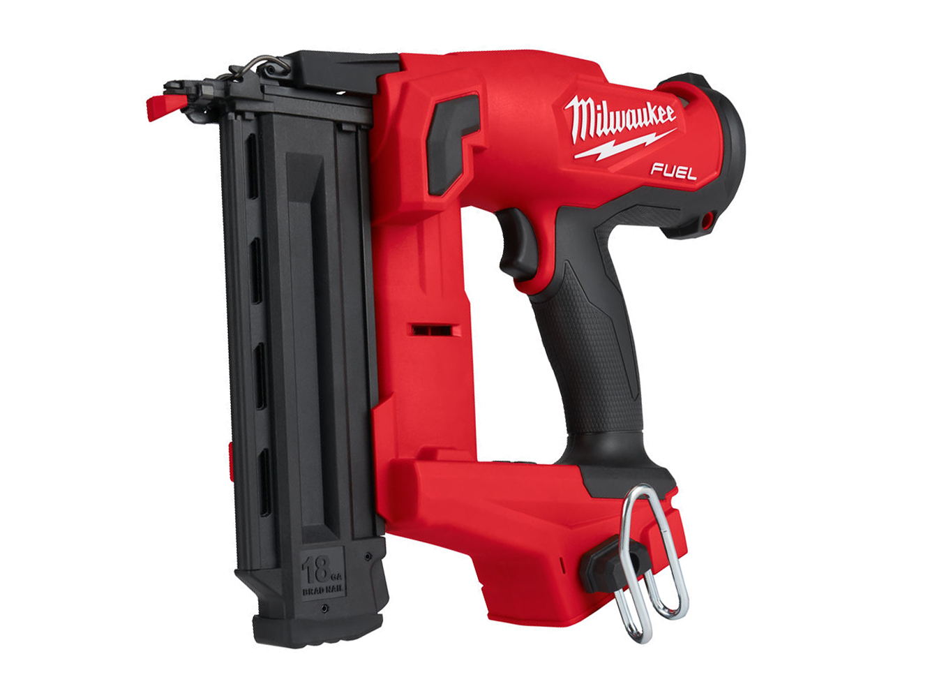 Milwaukee M18FN18GS 18V FUEL Brushless 18G 2nd Fix Nailer GS (Gasless Nail Gun) - Body Only