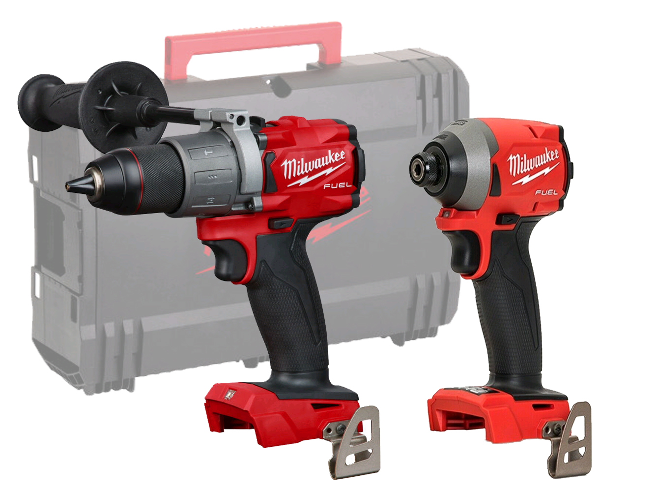Milwaukee 18V Fuel Brushless Combi & Impact Pack  M18FPD2 + M18FID2 - Machines Only