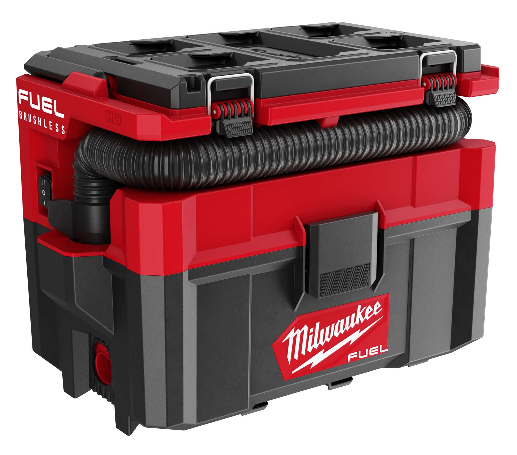 Milwaukee 18V Fuel Brushless Packout Wet N Dry Vacuum - M18FPOVCL - Body Only