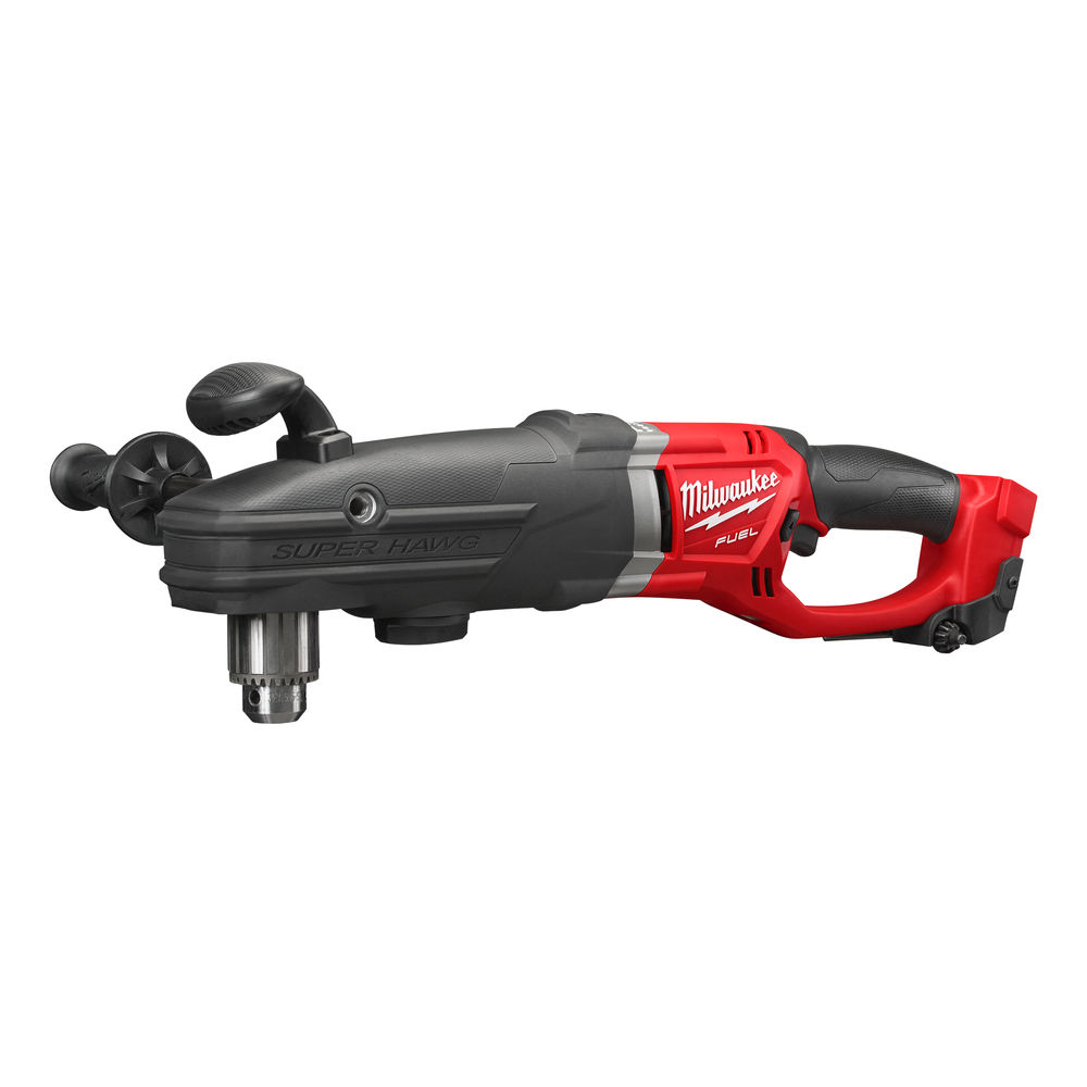 MILWAUKEE 18V FUEL SUPER HAWG RIGHT ANGLE DRILL - M18FRAD - BODY ONLY