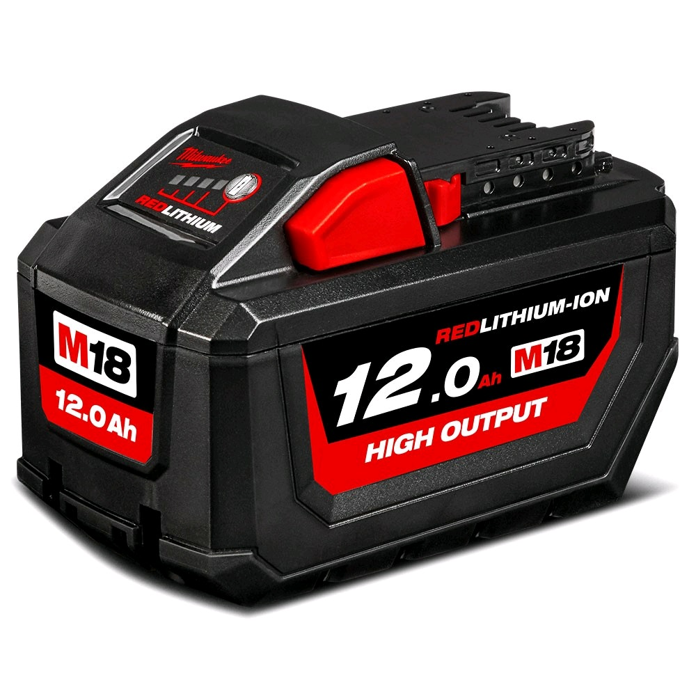 Milwaukee M18HB12 18V 12.0ah High Output RED Lithium-ion Battery