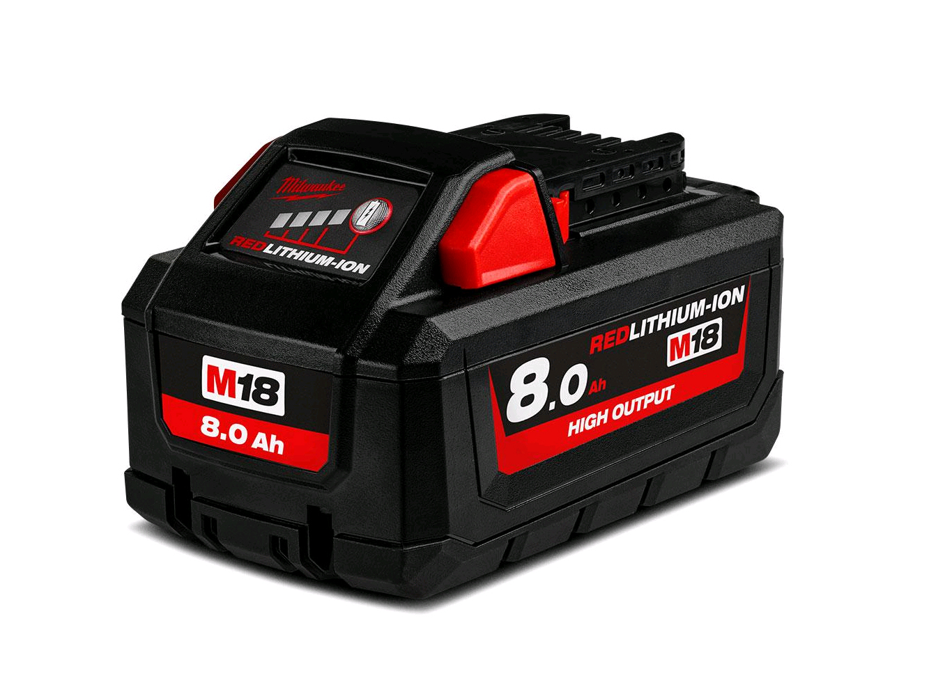 Milwaukee M18HB8 18V 8.0ah High Output Lithium-ion Battery