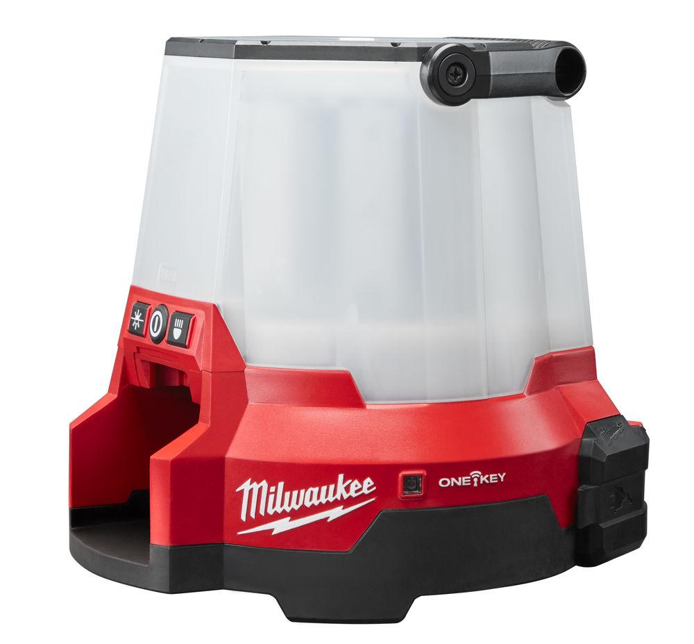 MILWAUKEE ONE-KEY 18V SMART LED SITE LIGHT IP54 - M18ONESLSP-0 - 18V & 110V