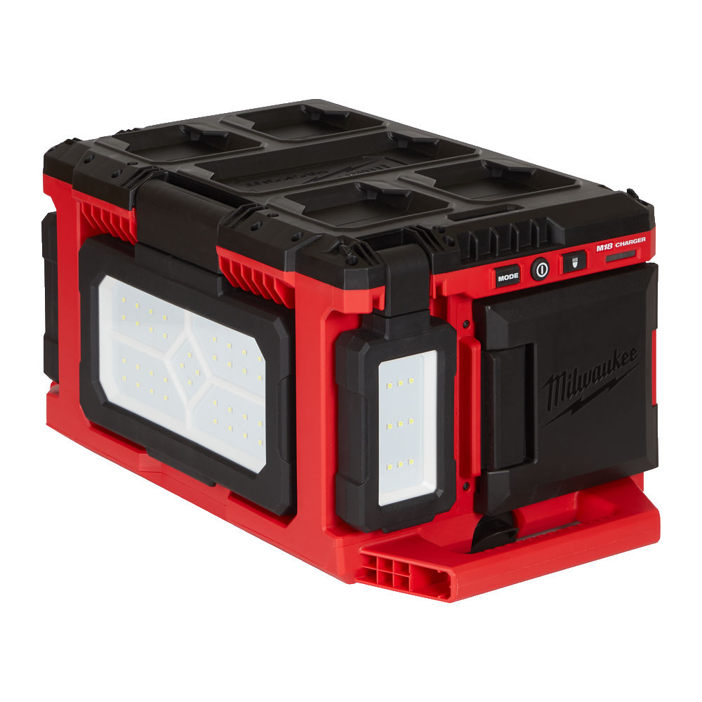 Milwaukee M18POALC 18V Packout 3000 Lumens Area Light & Charger - Body Only
