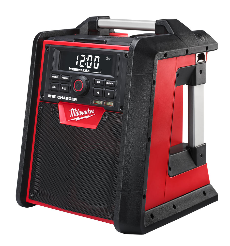 Milwaukee M18RC 18V / 240V Jobsite Radio/Charger with Bluetooth Connection - Body Only