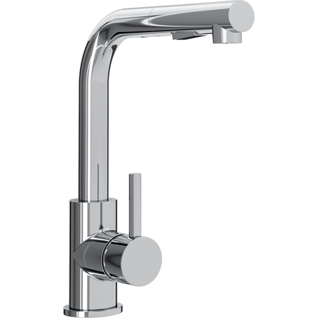Bristan Macadamia Sink Mixer with Pull Out Handset Chrome