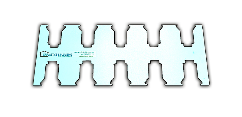 MILWAUKEE 18V LOCKING BATTERY HOLDER BRACKET - 10 SLOTS