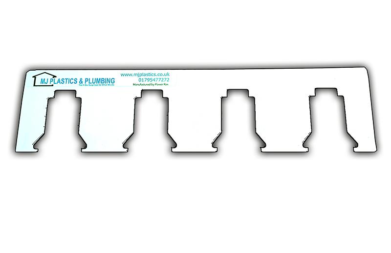 MILWAUKEE 18V LOCKING BATTERY HOLDER BRACKET - 4 SLOTS