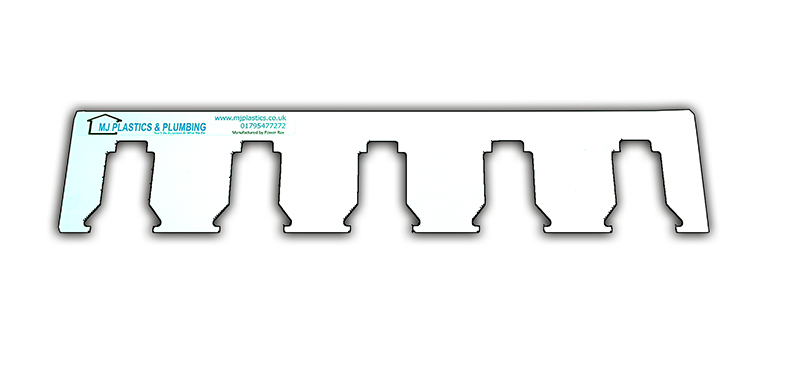 MILWAUKEE 18V LOCKING BATTERY HOLDER BRACKET - 5 SLOTS