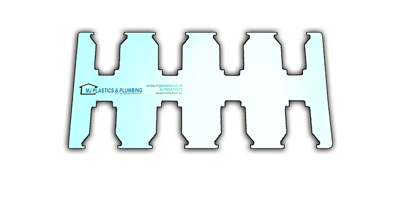 MILWAUKEE 18V LOCKING BATTERY HOLDER BRACKET - 8 SLOTS
