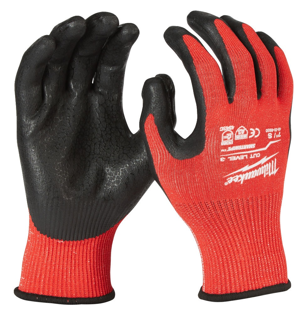 Milwaukee Cut Resistant Gloves - Level 3 Dipped - M/8 - 4932471420
