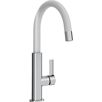 Bristan Melba Sink Mixer White/Chrome