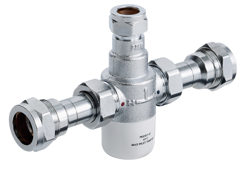 Bristan 15mm TMV3 Thermostatic Blending (Mixing) Valve Chrome