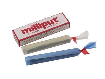 Milliput Standard Yellow-Grey Two Part Epoxy Puttey 113.4gm