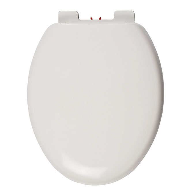 Celmac Tango Universal Soft Close Seat with Top Fix Hinges - White