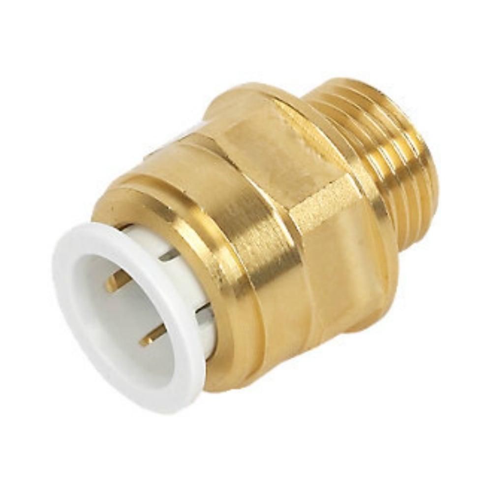 SPEEDFIT BRASS MALE COUPLER 15MM X 1/2 BSPT - MW011504N