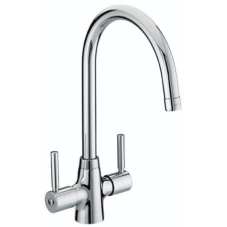 Bristan Monza Easyfit Sink Mixer Brushed Nickel