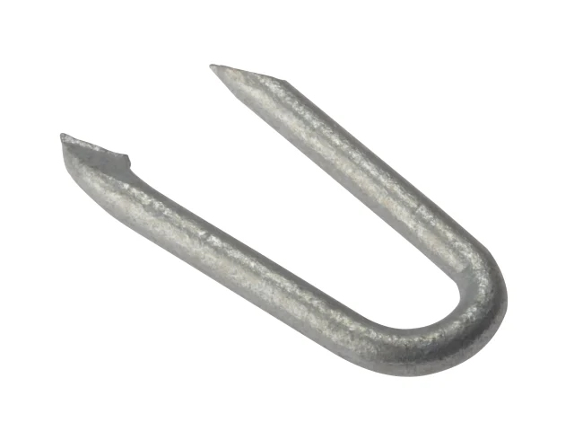 FORGEFIX NETTING STAPLES GALVANISED 15MM (BAG 500G) - 500NLNS15GB