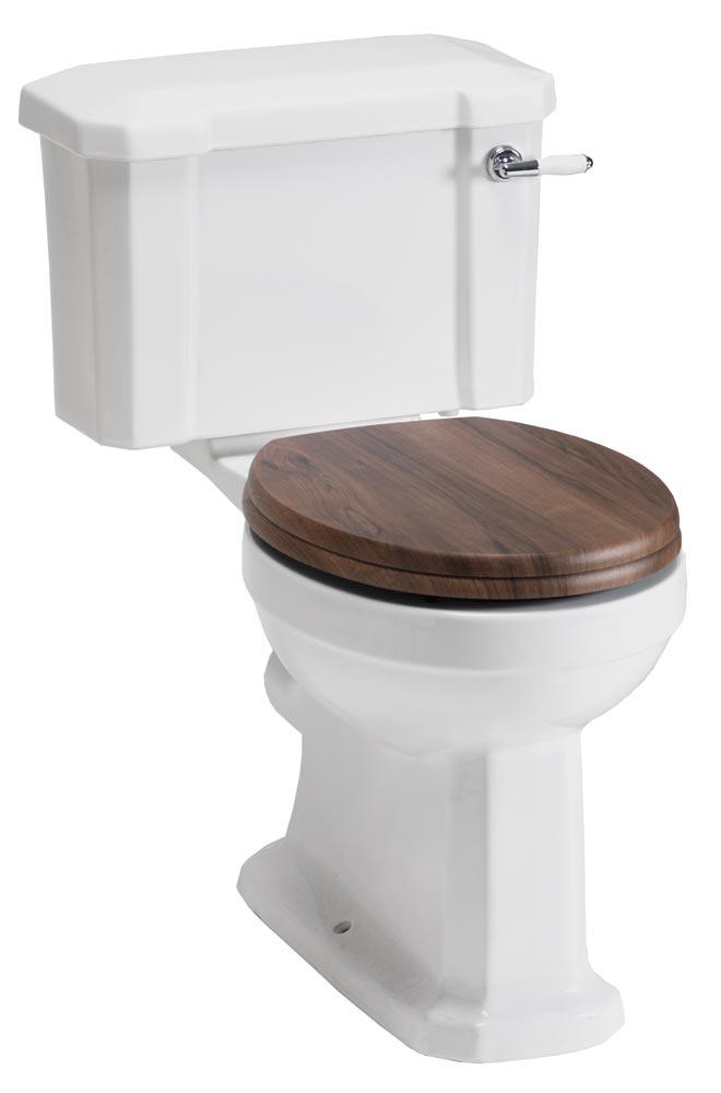 QX NOSTALGIC CLOSE COUPLED WC - PAN / CISTERN & SOFT CLOSE SEAT