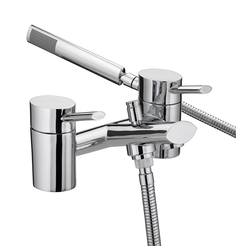 BRISTAN OVAL BATH SHOWER MIXER TAP CHROME