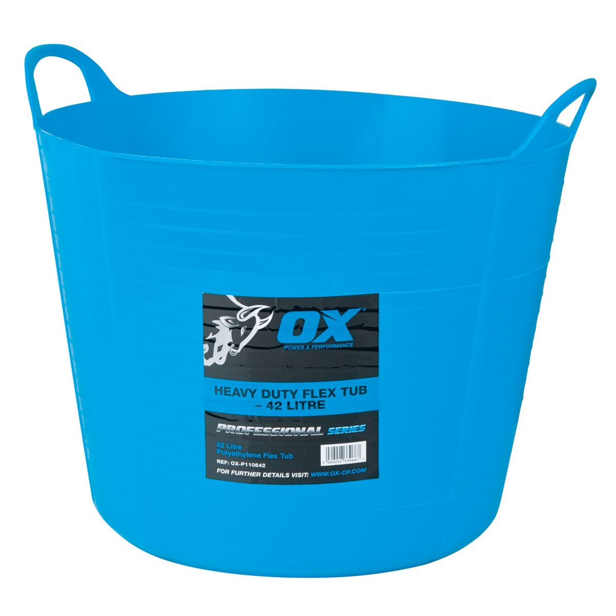 OX PRO HEAVY-DUTY FLEXI TUB 73L - OX-P110673