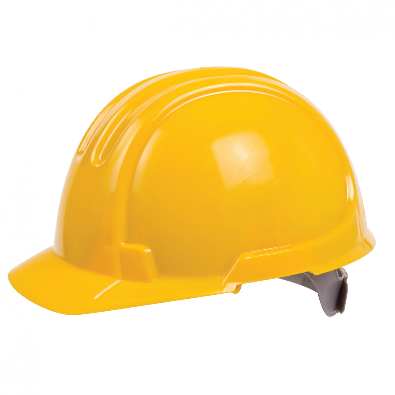 OX UNVENTED HARD HAT - YELLOW