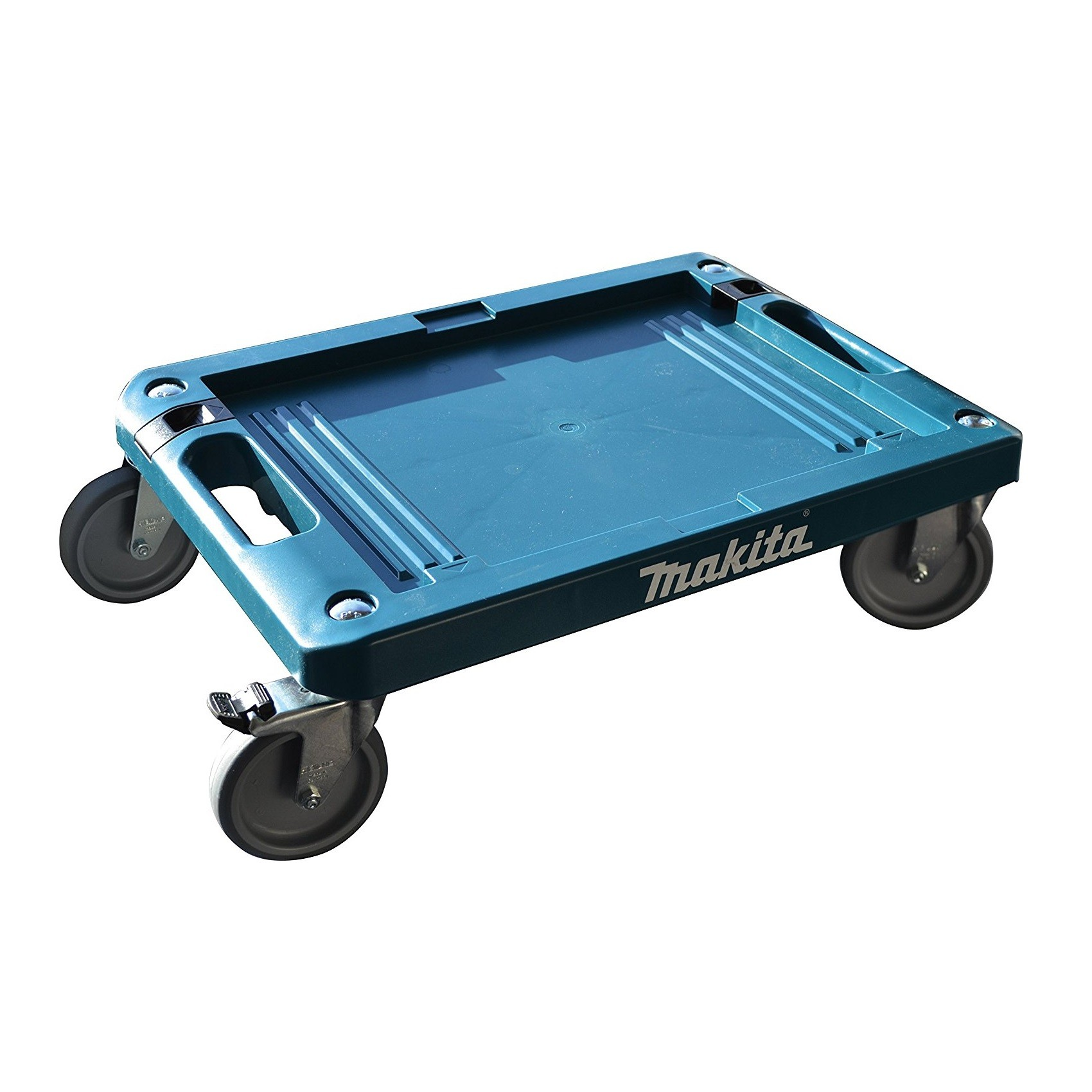 MAKITA STACKING CASE - WHEELED BASE & CASTORS - P-83886