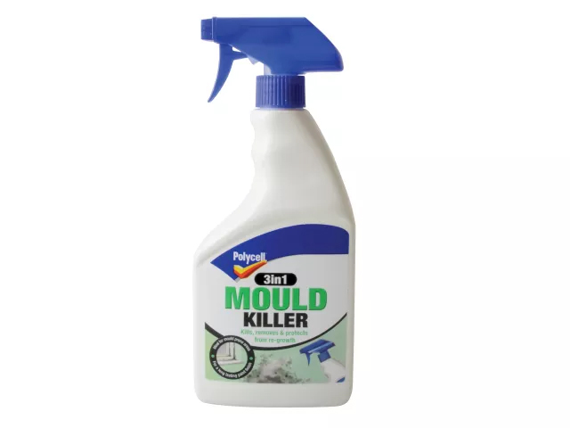POLYCELL 3IN1 MOULD KILLER SPRAY 500ML
