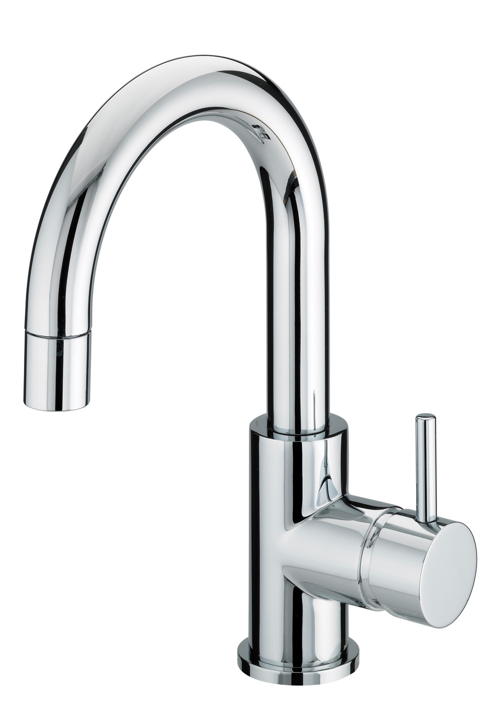 BRISTAN PRISM SIDE ACTION BASIN MIXER TAP CHROME WITH POP-UP WASTE