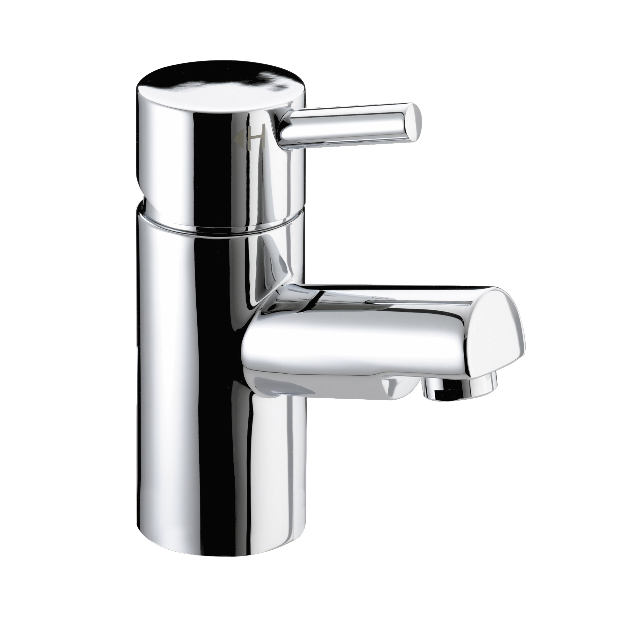 BRISTAN PRISM BASIN MIXER TAP CHROME (NO WASTE)
