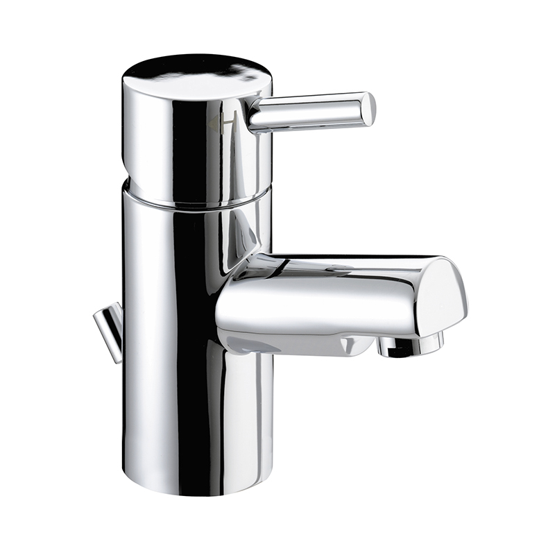 BRISTAN PRISM BASIN MIXER TAP CHROME WITH POP-UP WASTE