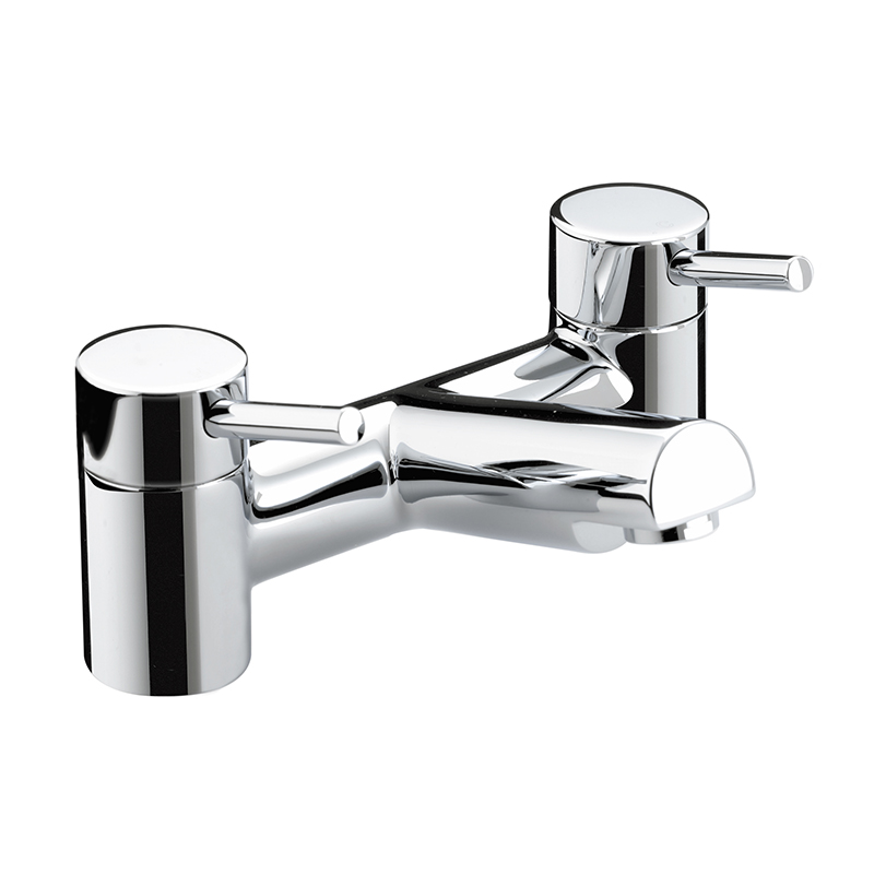 BRISTAN PRISM BATH FILLER CHROME