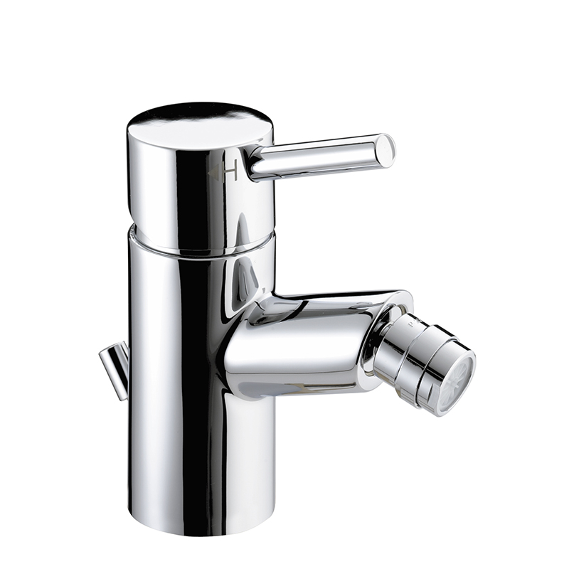 BRISTAN PRISM BIDET MIXER WITH POP-UP WASTE CHROME