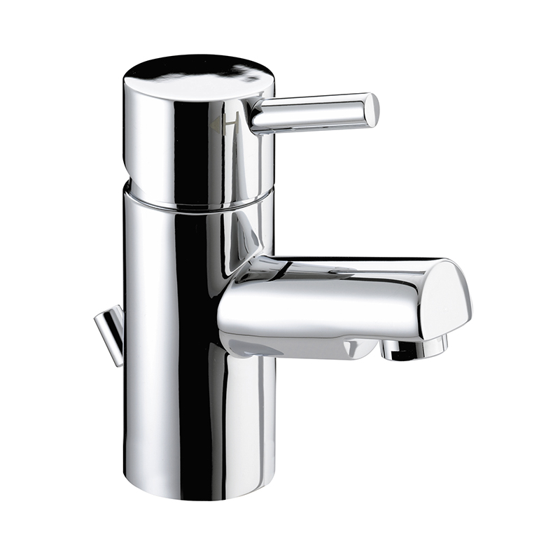 BRISTAN PRISM SMALL BASIN MIXER TAP CHROME WITH POP-UP WASTE