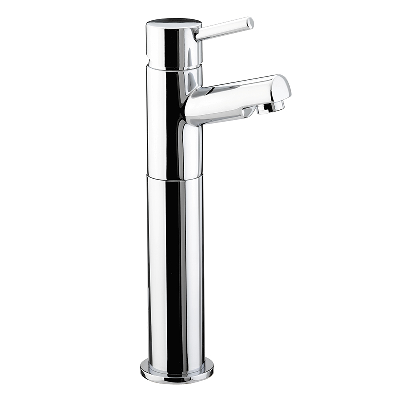 BRISTAN PRISM TALL BASIN MIXER TAP CHROME (NO WASTE)