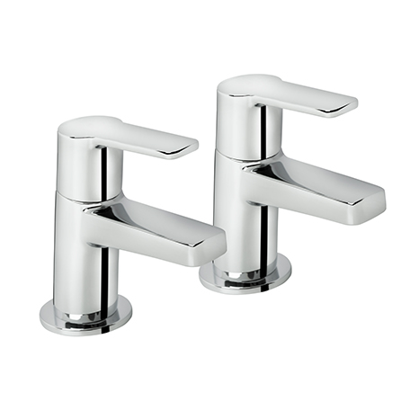 BRISTAN PISA BATH TAPS CHROME (PAIR)