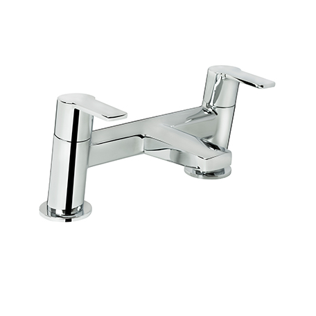 BRISTAN PISA BATH FILLER CHROME