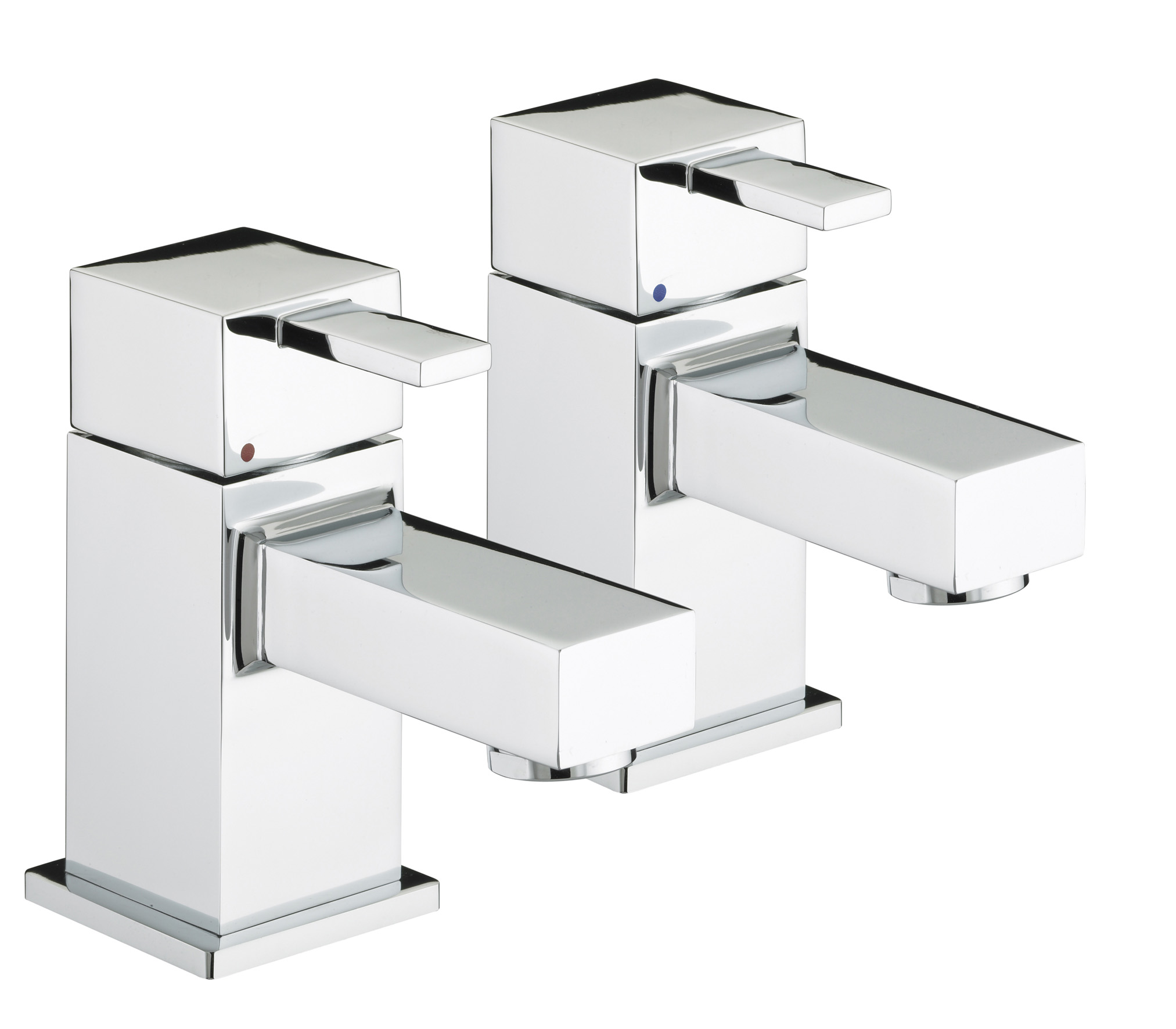 BRISTAN QUADRATO BATH TAPS CHROME (PAIR)