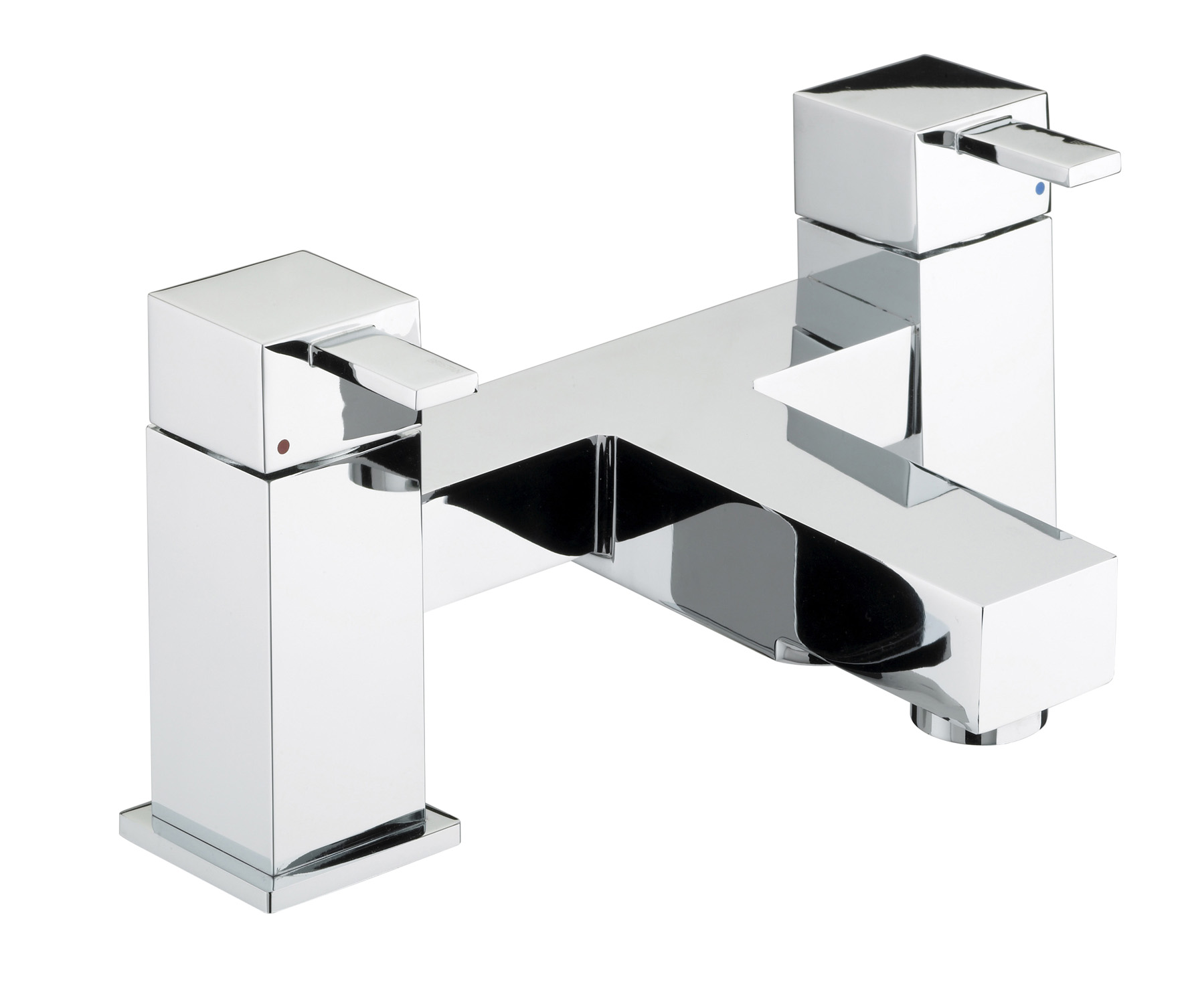 BRISTAN QUADRATO BATH FILLER CHROME
