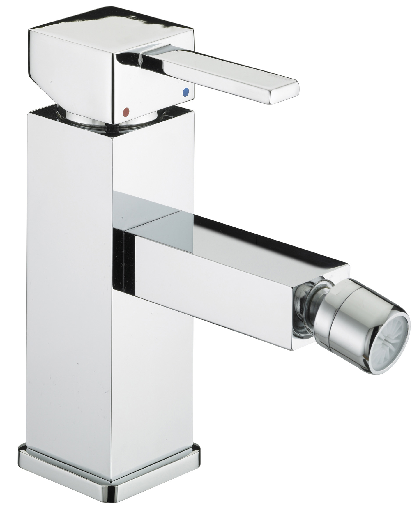 BRISTAN QUADRATO BIDET MIXER WITH POP-UP WASTE CHROME