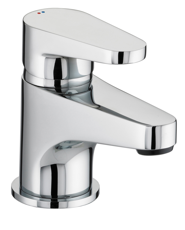 BRISTAN QUEST BASIN MIXER WITH CLICKER WASTE CHROME - QST BAS C